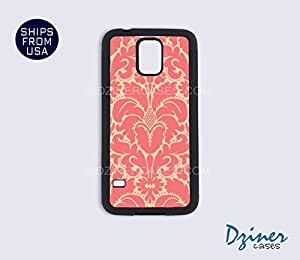 Galaxy S5 Case - Pink Damask