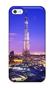 Awesome Burj Khalifa Tower Dubai Flip Case With Fashion Diushoujuan Design For ipod touch4 4694491K13006481