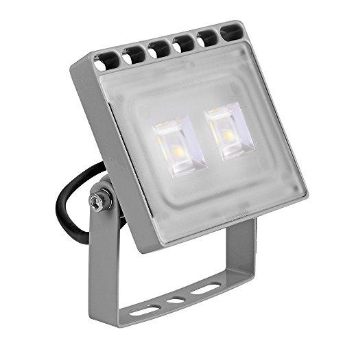 Modern Small Two Light (LED Flood Light Chunnuan, 10/20/30/50/100/150/200/300/500W Slim Cold White ,IP65 Waterproof ,Outdoor Security Lights Garden Landscape Spot Lamp Super Bright Floodlight 110v AC (10))