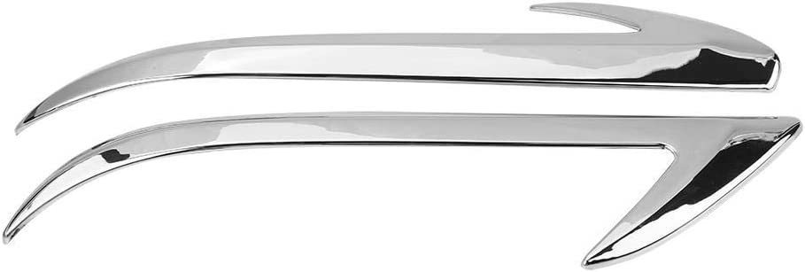 pl/ástico ABS tira de moldura de espejo lateral para CHR 2018 2 piezas de cubierta de espejo retrovisor lateral para coche Gorgeri