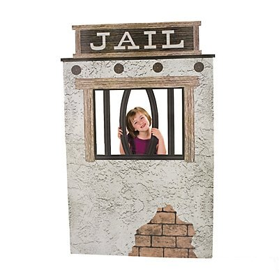 Jail Cell Photo Stand-Up (Photo Stand Ups)
