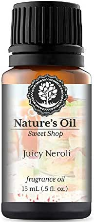 Juicy Neroli Fragrance Oil (15ml) For Diffusers, Soap Making, Candles, Lotion, Home Scents, Linen Spray, Bath Bombs, Slime
