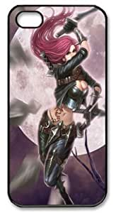 LZHCASE Personalized Protective Case for iphone 5 - league of legends katarina