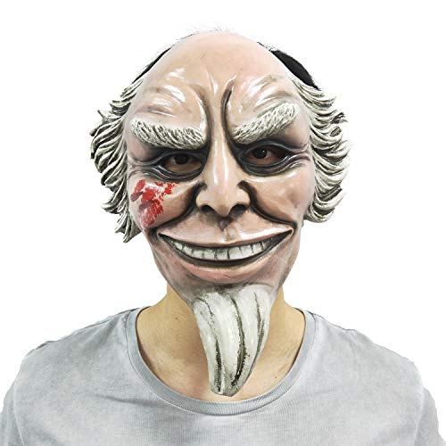 BBBL The Purge Mask Anarchy Movie Purge GOD Men Women mask Kiss me Horror Halloween Costume Party Yellow -