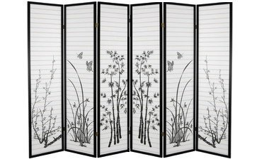 6 panel room dividers - 4
