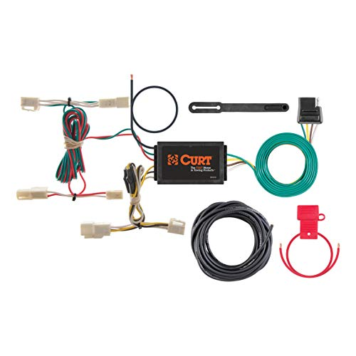 CURT 55563 Vehicle-Side Custom 4-Pin Trailer Wiring Harness for Select Lexus RX 330, Lexus RX 350