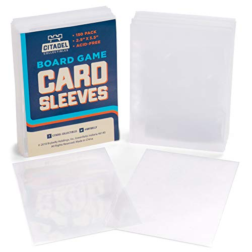 150 Card Sleeves | Smooth Durable 2.5