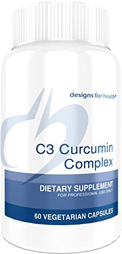 Designs for Health C3 Curcumin Complex - 95% Curcuminoids, 400mg from 3 Turmeric Curcuminoids (60 Capsules) by designs for health (Image #6)