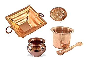 Amazon.com: Finaldealz Combo of 4 - Hawan Kund 10