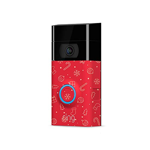 Ring Video Doorbell 2 Holiday Faceplate - Wrapping Paper