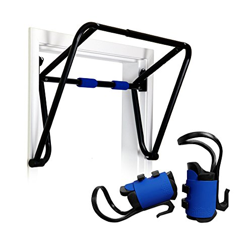 Teeter E1-1056 Hang Ups EZ Up Inversion and Chin Up System with Rack, Gravity Boots and Healthy Back DVD by Teeter
