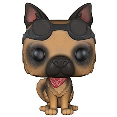 Funko Pop Games: Fallout 4-Dogmeat Action Figure: Funko Pop! Games:: Toys & Games
