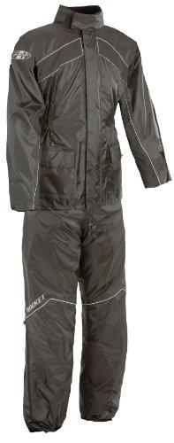 Joe Rocket 1010-1005 RS-2 Men's Motorcycle Rain Suit (Black, X-Large) by Joe Rocket