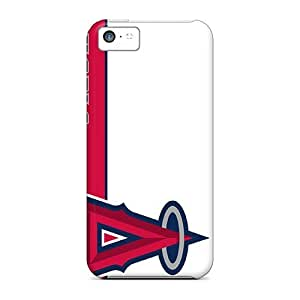 Great Cell-phone Hard Covers For Iphone 5c With Allow Personal Design Fashion Los Angeles Angels Image JasonPelletier hjbrhga1544