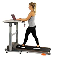 Sunny Health & Fitness Treadmill Desk Workstation with Power Adjustable Table Height, SF-TD7704 from Sunny Distributor Inc.