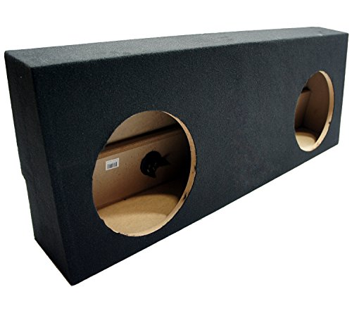 Compatible with 2007-2013 Toyota Tundra Crew Max Truck Dual 12″ Sub Box Subwoofer Enclosure