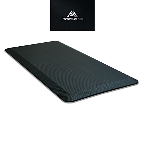 Paramount anti fatigue professional comfort standing desk mat and kitchen floor mat 20 x 42 x - Professional kitchen floor mats ...