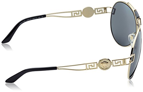 Sonnenbrille Or VE2160 Gold Pale Versace Grey qHF7wxaBa
