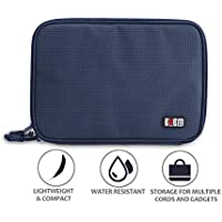 Water Resistant Electronics Organizer Travel Case -...