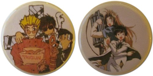Trigun Characters 1.25 Inch Magnet Set
