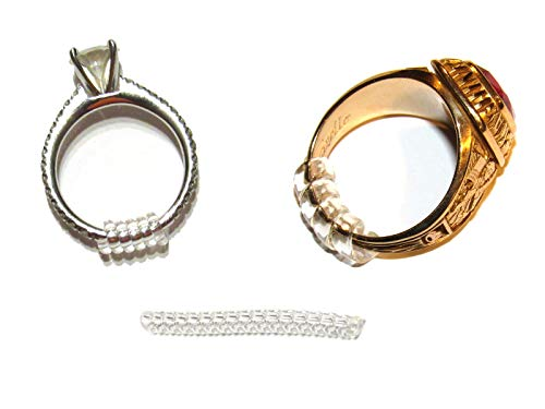 Easy Ring Adjusters - Quickly fit The Size of Your Ring/Band (3 Sizes Included)