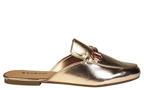 Pantofola Da Donna In Bambù Oro Rosa