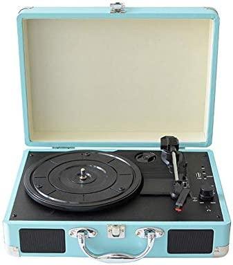 DJG Vintage Bluetooth Record Player, Bluetooth Portable 33/45 ...