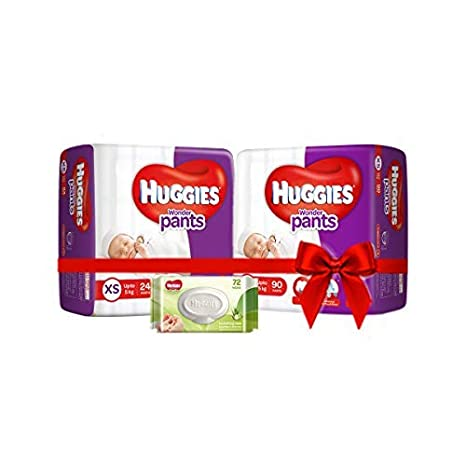 Buy Huggies Wonder Pants Comfort Pack Extra Small Size Diapers