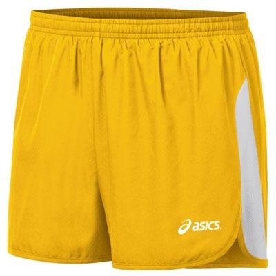 ASICS Men's Wicked 1/2 Split Short (Gold/White)