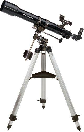 Orion 09882 Observer 70mm Equatorial Refractor Telescope (Black)