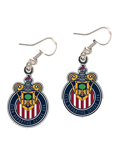 chivas-usa-mls-wincraft-sports-nickel-free-dangle-earrings