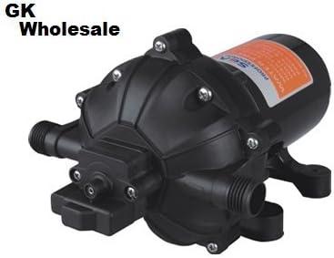 12V DC 20L//min 5.5Gpm Water Diaphragm Pump 60PSI High Pressure Boat Sprayer Pump