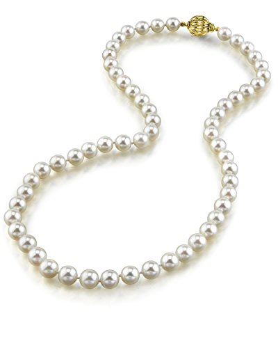 White Freshwater Cultured Pearl Necklace product image