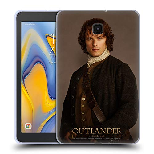 - Official Outlander Jamie Traditional Characters Soft Gel Case Compatible for Galaxy Tab A 8.0 (2018)