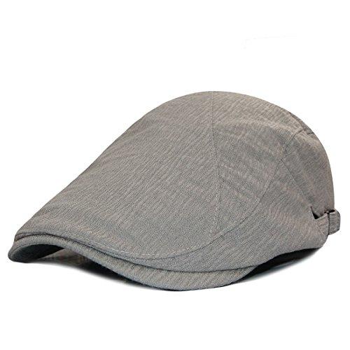 LETHMIK Duckbill Newsboy Ivy Cap,Unisex Gatsby Driving Hat Scally Flat Golf Caps Polyester (Scally Flat)
