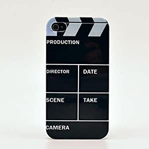 DD Video Production Pattern Hard Case for iPhone 4/4s