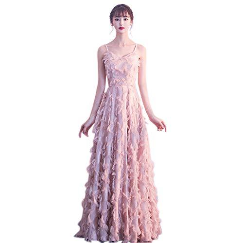 709c69aca QJKai Banquete Vestido de Noche Moda femenina Vestido Largo de Novia  Vestido de DAMA Vestido de Fiesta