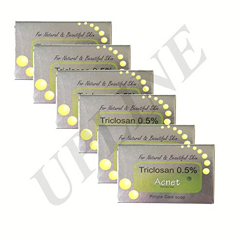 ACNET Pimple Care Soap For Natural And Beautiful Skin (Pack of 6)