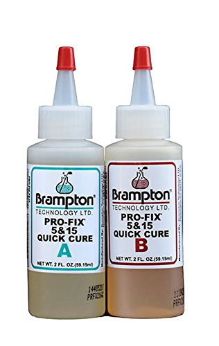 Club Repair Golf (Brampton Epoxy PRO-FIX 5&15 Quick Cure - Golf Club Repair, 4 ounces)