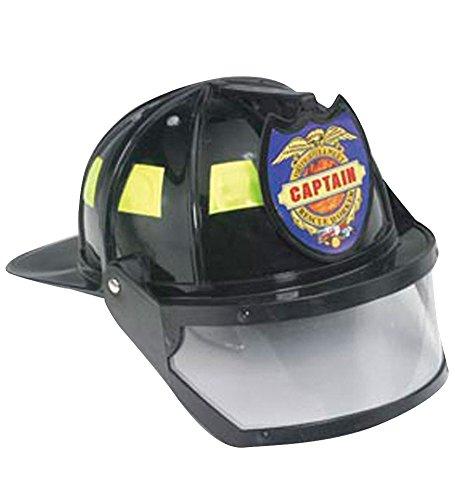 Fireman Captain Helmet Visor Costume