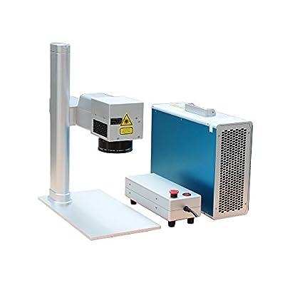 20W Portable Desktop Fiber Laser Marking Engraving Machine Maker