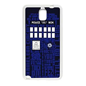 Happy Tardis chameleon circuit Phone Case for Samsung Galaxy Note3
