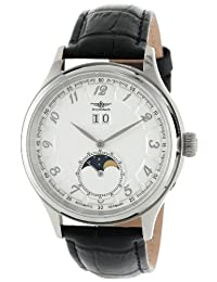 Breytenbach Men's BB44151WW-SS Automatic Moonphase Big Date Small Second Watch