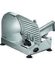 Bomann MA 451 CB, elektrische elektrische snijder, met groot mes van roestvrij staal (Ø 190 mm), elektrische snijmachine, 150 watt