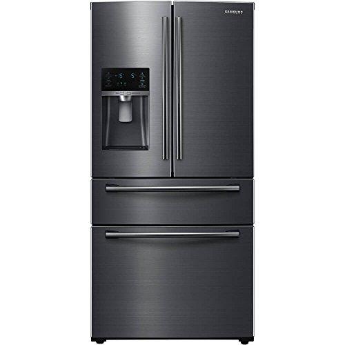 Samsung Black Stainless Steel 4-Door French Door Refrigerator (Samsung Fridge Stainless)