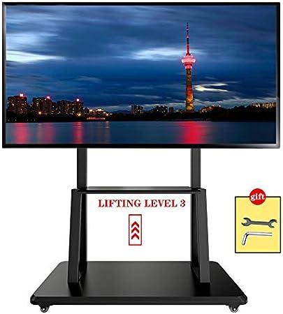 XDDan Soporte móvil de TV, Universal balanceo para TV de 43