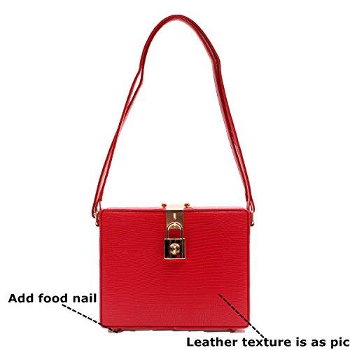 Zarapack Negro Al Bolso Red Mujer Hombro S Para rXr8z