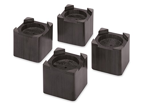 (Whitmor Wood Bed Risers - Espresso (Set of 4))