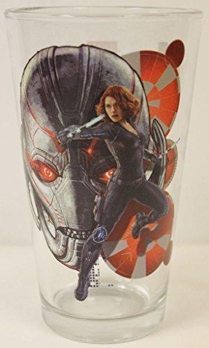 Avengers: Age of Ultron- Black Widow 16 Oz. Pint Glass Marvel Comics