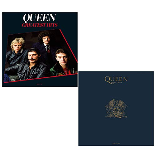 Greatest Hits I and II (Best Of) - Queen Greatest Hits 2 LP Vinyl Album Bundling